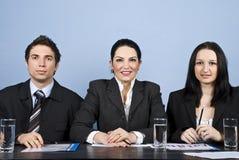 Executivos da conferência Imagens de Stock Royalty Free