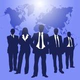 Executivos da cor Imagem de Stock Royalty Free
