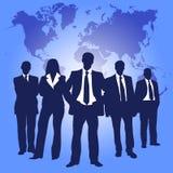 Executivos da cor Imagem de Stock