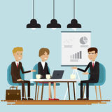 Executivos da sala de reunião Fotografia de Stock