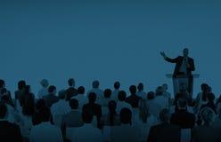 Executivos de Team Teamwork Cooperation Seminar Concept foto de stock
