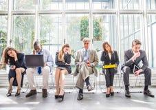 Executivos deprimidos Imagem de Stock Royalty Free