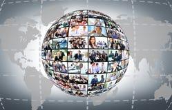 Executivos diferentes Imagem de Stock