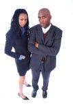 Executivos do americano africano Foto de Stock Royalty Free