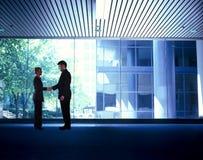 Executivos do aperto de mão Imagens de Stock