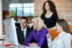 Executivos do encontro Foto de Stock