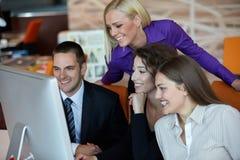 Executivos do encontro Imagens de Stock