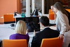 Executivos do encontro Foto de Stock Royalty Free