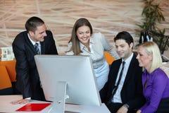 Executivos do encontro Fotos de Stock