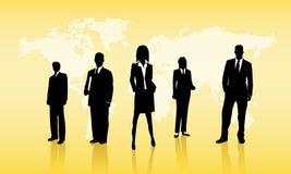 Executivos do fundo ilustração royalty free