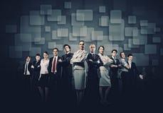 Executivos do grupo Imagens de Stock Royalty Free
