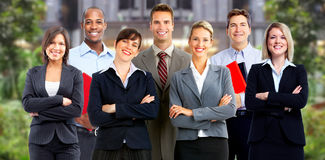 Executivos do grupo fotos de stock royalty free