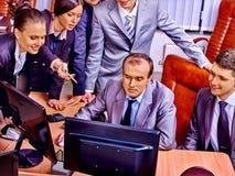 Executivos do grupo no escritório Fotografia de Stock Royalty Free