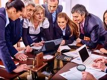 Executivos do grupo no escritório Foto de Stock