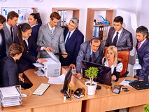 Executivos do grupo no escritório Foto de Stock Royalty Free