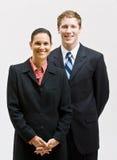 Executivos do sorriso Imagens de Stock Royalty Free