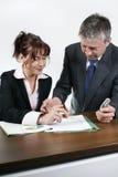 Executivos do trabalho Imagem de Stock Royalty Free