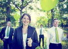 Executivos dos conceitos ambientais do negócio fotos de stock royalty free