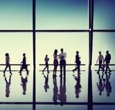 Executivos dos conceitos do escritório empresarial imagem de stock