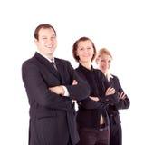Executivos e equipe. imagens de stock