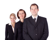 Executivos e equipe Imagem de Stock Royalty Free