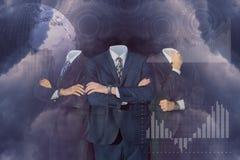 Executivos em um negócio maior foto de stock royalty free