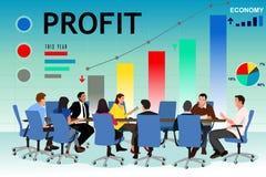 Executivos em uma reunião no escritório Fotos de Stock Royalty Free