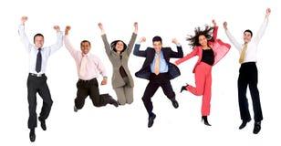 Executivos felizes Imagens de Stock