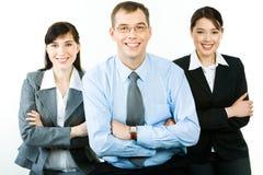Executivos felizes Fotografia de Stock