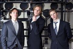 Executivos júniors fotos de stock royalty free