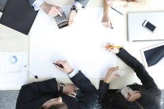 Executivos na reunião Fotos de Stock