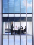 Executivos na reunião no escritório Foto de Stock Royalty Free