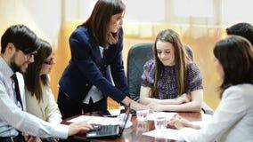 Executivos no escritório