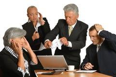 Executivos no escritório Imagem de Stock Royalty Free