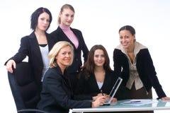 Executivos no trabalho imagem de stock