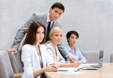 Executivos no trabalho Fotografia de Stock