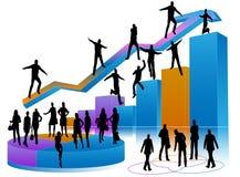 Executivos novos Ilustração Stock