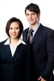 Executivos novos fotografia de stock