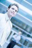 Executivos novos Fotos de Stock Royalty Free