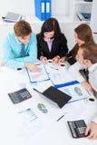 Executivos novos no escritório Fotografia de Stock
