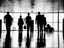 Executivos pedestres imagem de stock