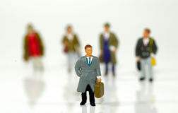 Executivos pequenos 3 Imagens de Stock