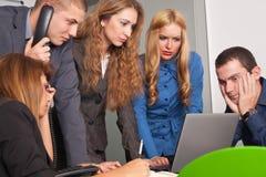 Executivos preocupados Fotografia de Stock Royalty Free