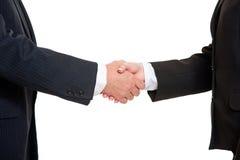 Executivos que agitam as mãos Imagens de Stock Royalty Free