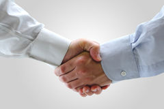 Executivos que agitam as mãos Imagem de Stock Royalty Free