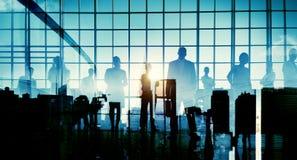 Executivos que encontram conceitos da conferência imagem de stock royalty free