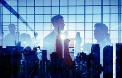 Executivos que encontram conceitos da conferência foto de stock royalty free