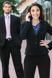 Executivos, rua Imagens de Stock