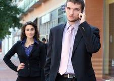 Executivos, rua Imagem de Stock Royalty Free