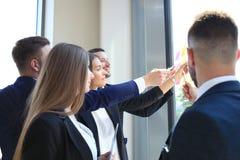 Executivos startup criativos novos Imagem de Stock Royalty Free
